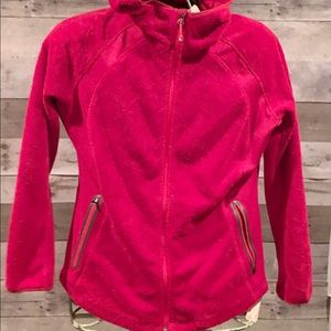 Eddie Bauer Velour Fleece Full ZIP Hoodie L